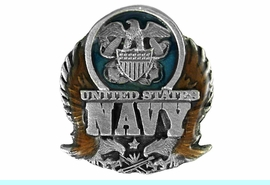 """<BR>              U.S. NAVY LAPEL PIN<Br>              LEAD & NICKEL FREE!!<Br>W15813P - """"UNITED STATES NAVY""""<br>         PIN FROM $2.36 TO $5.25"""