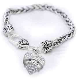 <BR>  LICENSED SORORITY JEWELRY MANUFACTURER<BR>             ALPHA XI DELTA SORORITY BRACELET<BR>                 NICKEL, LEAD,  & CADMIUM FREE! <BR>                       EXCLUSIVELY OURS W1736B1<BR>               FROM $7.90 TO $12.50 EACH �2015 <BR>