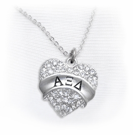 <BR>LICENSED SORORITY JEWELRY MANUFACTURER<BR>           ALPHA XI DELTA SORORITY NECKLACE<BR>                 NICKEL, LEAD,  & CADMIUM FREE! <BR>                       EXCLUSIVELY OURS W1736N1<BR>               FROM $7.90 TO $12.50 EACH �2015 <BR>