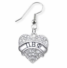 <BR>LICENSED SORORITY JEWELRY MANUFACTURER<BR>           PI BETA PHI SORORITY EARRINGS<BR>                 NICKEL, LEAD,  & CADMIUM FREE! <BR>                       EXCLUSIVELY OURS W1734E1<BR>               FROM $7.90 TO $12.50 EACH �2015 <BR>