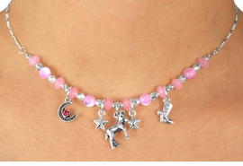 W11981NE - CHILDREN'S LEAD &<Br>  NICKEL FREE WESTERN THEME<Br>      NECKLACE & EARRING SET<Br>                AS LOW AS $5.50