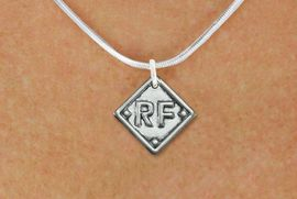 """<bR>               SOFTBALL NECKLACE - ADJUSTABLE  <BR>           <BR>                           <BR>      LEAD, NICKEL & CADMIUM FREE!! <BR>PLAYERS POSITION AND TEAM NUMBER  <BR>   W1255N2 -  """"SOFTBALL DIAMOND"""" <Br>       SILVER TONE CHARM & NECKLACE <BR>          $9.68 EACH  �2012"""