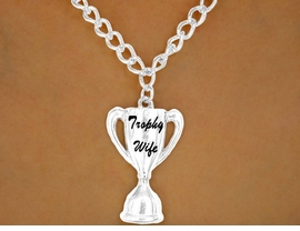 "<br>W12605N - ""TROPHY WIFE""<Br>NECKLACE AS LOW AS $3.50"
