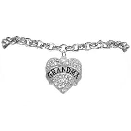 "<bR>                   EXCLUSIVELY OURS!!<Br>             AN ALLAN ROBIN DESIGN!!<BR>    CLICK HERE TO SEE 1000+ EXCITING<BR>       CHANGES THAT YOU CAN MAKE!<BR>       LEAD, NICKEL & CADMIUM FREE!!<BR>W1343SB2 - AUSTRIAN CRYSTAL ""GRANDMA"" <BR>              HEART CHARM & BRACELET <BR>           FROM $5.40 TO $9.85 �2012"