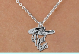 """<bR>       WHOLESALE DANCE & BALLET JEWELRY! <BR>                 AN ALLAN ROBIN DESIGN!! <BR>        CLICK HERE TO SEE 1500+ EXCITING <BR>              CHANGES THAT YOU CAN MAKE! <BR>             LEAD, NICKEL & CADMIUM FREE <BR  >W1413SN8 - """"ON YOUR TOES"""" BALLET SHOES  <Br>SILVER TONE CHARM ON CHILD LOBSTER CLASP  <BR>CHAIN NECKLACE FROM $4.50 TO $8.35 �2015"""