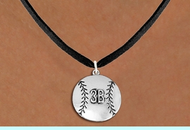 <br>    WHOLESALE SOFTBALL NECKLACE - ADJUSTABLE <bR>                    <BR>               <BR>         CADMIUM, LEAD, & NICKEL FREE!! <BR> CUSTOMIZED WITH PLAYERS POSITION <BR>      W1503N3 - BEAUTIFUL SILVER TONE <BR>     CUSTOM SOFTBALL CHARM & NECKLACE <BR>               $9.68 EACH �2013