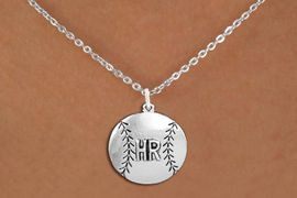 <br>    SOFTBALL NECKLACE - ADJUSTABLE <bR>                  <BR>                <BR>         CADMIUM, LEAD & NICKEL FREE!! <BR> CUSTOMIZED WITH PLAYERS POSITION <BR>      W1503N1 - BEAUTIFUL SILVER TONE <BR>     CUSTOM SOFTBALL CHARM & NECKLACE <BR>                $9.68 EACH  �2013