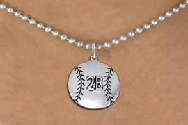 <br>    WHOLESALE SOFTBALL NECKLACE - ADJUSTABLE <bR>                    <BR>          <BR>         CADMIUM, LEAD, & NICKEL FREE!! <BR> CUSTOMIZED WITH PLAYERS POSITION <BR>      W1503N5 - BEAUTIFUL SILVER TONE <BR>     CUSTOM SOFTBALL CHARM & BALL CHAIN<BR> NECKLACE  $9.68 EACH �2013