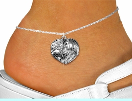 <bR>    WHOLESALE ANIMAL FASHION JEWELRY <BR>                   EXCLUSIVELY OURS!! <BR>              AN ALLAN ROBIN DESIGN!! <BR>        LEAD, NICKEL & CADMIUM FREE!! <BR>  W1512SAK - DETAILED SILVER TONE AND <BR> CLEAR CRYSTAL HORSE AND FOAL CHARM <Br>     ANKLET FROM $5.40 TO $9.85 �2013