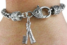 <BR> WHOLESALE DENTAL CARE FASHION JEWELRY <bR>                  EXCLUSIVELY OURS!! <Br>             AN ALLAN ROBIN DESIGN!! <BR>       LEAD, NICKEL & CADMIUM FREE!! <BR>  W1522SB - ANTIQUED SILVER TONE AND <BR> CRYSTAL TOOTHBRUSH & TOOTHPASTE CHARM <BR>     ON HEART LOBSTER CLASP BRACELET <Br>       FROM $5.98 TO $12.85 �2013