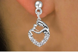 <BR> WHOLESALE PARENTING FASHION EARRINGS <bR>               EXCLUSIVELY OURS!! <Br>          AN ALLAN ROBIN DESIGN!! <BR>    LEAD, NICKEL & CADMIUM FREE!! <BR> W1539SE - ANTIQUED SILVER TONE AND <BR>CLEAR CRYSTAL MOTHER AND CHILD CHARM <BR>      EARRINGS FROM $5.40 TO $10.45 �2013