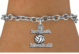 """<br>   WHOLESALE SPORTS FASHION BRACELET <bR>                    EXCLUSIVELY OURS!!<BR>               AN ALLAN ROBIN DESIGN!!<BR>      CLICK HERE TO SEE 1000+ EXCITING<BR>            CHANGES THAT YOU CAN MAKE!<BR>         CADMIUM, LEAD & NICKEL FREE!!<BR>     W1546SB - BEAUTIFUL SILVER TONE <Br>""""IF I BELIEVE IT, I CAN DO IT!"""" CHARM & BRACELET <BR>             FROM $4.50 TO $8.35 �2013"""