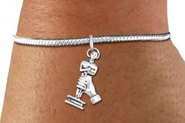 <bR>    WHOLESALE FASHION CHARM BRACELET <BR>                     EXCLUSIVELY OURS!! <BR>                AN ALLAN ROBIN DESIGN!! <BR>          CADMIUM, LEAD & NICKEL FREE!! <BR>        W1556SB - DETAILED 3D SILVER TONE  <BR>ACADEMY ACTING AWARD CHARM & SNAKE CHAIN<BR>      BRACELET FROM $4.40 TO $9.20 �2014