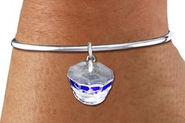 <bR>    WHOLESALE FASHION CHARM BRACELET <BR>                     EXCLUSIVELY OURS!! <BR>                AN ALLAN ROBIN DESIGN!! <BR>          CADMIUM, LEAD & NICKEL FREE!! <BR>        W1568SB - DETAILED 3D SILVER TONE AND <BR>BLUE COLOR FILL POLICE CAP CHARM & SOLID WIRE <BR>      BRACELET FROM $4.40 TO $9.20 �2014