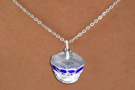 <br>      WHOLESALE FASHION POLICE JEWELRY <bR>                   EXCLUSIVELY OURS!! <BR>         AN ALLAN ROBIN DESIGN!! <BR>   CLICK HERE TO SEE 1000+ EXCITING <BR>      CHANGES THAT YOU CAN MAKE! <BR>        CADMIUM, LEAD & NICKEL FREE!! <BR>  W1568SN - DETAILED 3D SILVER TONE AND BLUE <BR>COLOR FILL POLICE CAP CHARM & NECKLACE <BR>             FROM $4.85 TO $8.30 �2014