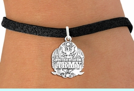 <br>WHOLESALE ARMED FORCES CHARM BRACELETS <bR>                    EXCLUSIVELY OURS!!<BR>               AN ALLAN ROBIN DESIGN!!<BR>      CLICK HERE TO SEE 1000+ EXCITING<BR>            CHANGES THAT YOU CAN MAKE!<BR>         CADMIUM, LEAD & NICKEL FREE!!<BR>     W1576SB - DETAILED 3D SILVER TONE <Br>U.S. ARMY INSIGNIA CHARM & BRACELET <BR>             FROM $4.50 TO $8.35 �2014