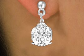 <br>WHOLESALE ARMED FORCES CHARM EARRINGS <bR>                 EXCLUSIVELY OURS!! <BR>            AN ALLAN ROBIN DESIGN!! <BR>      CADMIUM, LEAD & NICKEL FREE!! <BR>W1578SE - DETAILED SILVER TONE <Br>U.S. NAVY INSIGNIA CHARM EARRINGS <BR>          FROM $3.65 TO $8.40 �2014