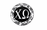 "W1646SC - CHI OMEGA BLACK AND WHITE FLORAL DISK CHARM<BR><FONT size=""2"">Buy 1-2 for $6.25 Each<br>Buy 3-5 for $5.63 Each<br>Buy 6-11 for $3.75 Each<br>Buy 12-23 for $3.56 Each<br>Buy 24-49 for $3.31 Each<br>Buy 50 or More for $2.94 Each</font>"