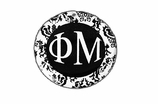 "W1653SC - PHI MU BLACK AND WHITE FLORAL DISK CHARM<BR><FONT size=""2"">Buy 1-2 for $6.25 Each<br>Buy 3-5 for $5.63 Each<br>Buy 6-11 for $3.75 Each<br>Buy 12-23 for $3.56 Each<br>Buy 24-49 for $3.31 Each<br>Buy 50 or More for $2.94 Each</font>"