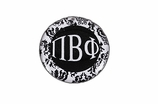 "W1655SC - PI BETA PHI BLACK AND WHITE FLORAL DISK CHARM<BR><FONT size=""2"">Buy 1-2 for $6.25 Each<br>Buy 3-5 for $5.63 Each<br>Buy 6-11 for $3.75 Each<br>Buy 12-23 for $3.56 Each<br>Buy 24-49 for $3.31 Each<br>Buy 50 or More for $2.94 Each</font>"