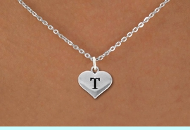 <BR>NICKEL FREE & ADJUSTABLE NECKLACE !<br>    PERSONALIZED INITIAL NECKLACE <bR>               EXCLUSIVELY OURS!! <Br>          AN ALLAN ROBIN DESIGN!! <BR> CLICK HERE TO SEE 1000+ EXCITING <BR>       CHANGES THAT YOU CAN MAKE! <BR>             LEAD & NICKEL FREE!! <BR>    W1669SN - SILVER TONE HEART <BR> SHAPED ALPHABET INITIAL CHARM ON  <Br>CHOICE OF NECKLACE FROM $4.50 TO $8.35