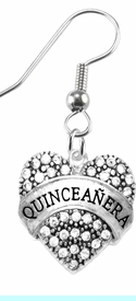 """<BR>""""QUINCEANERA""""  EXCLUSIVELY OURS!!  <Br>               AN ALLAN ROBIN DESIGN!!  <BR>                        HYPOALLERGENIC<BR>        NICKEL, LEAD & CADMIUM FREE!!  <BR>W1690E1- FROM $7.85 TO $12.85 �2015"""