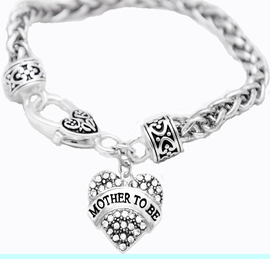 """<BR>   """"MOTHER TO BE""""  EXCLUSIVELY OURS!!   <Br>               AN ALLAN ROBIN DESIGN!!   <BR>        NICKEL, LEAD & CADMIUM FREE!!   <BR>W1697B1- FROM $5.98 TO $12.85 �2015"""
