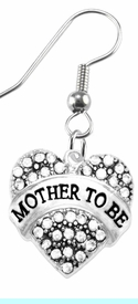 """<BR>  """"MOTHER TO BE""""  EXCLUSIVELY OURS!!   <Br>               AN ALLAN ROBIN DESIGN!!   <BR>        NICKEL, LEAD & CADMIUM FREE!!   <BR>W1697E1- FROM $5.98 TO $12.85 �2015"""