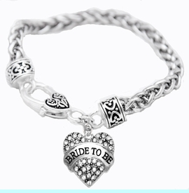 """<BR>     """"BRIDE TO BE""""  EXCLUSIVELY OURS!!   <Br>               AN ALLAN ROBIN DESIGN!!   <BR>        NICKEL, LEAD & CADMIUM FREE!!   <BR>W1702B1- FROM $5.98 TO $12.85 �2015"""