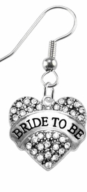 "<BR>    ""BRIDE TO BE""  EXCLUSIVELY OURS!!   <Br>               AN ALLAN ROBIN DESIGN!!   <BR>        NICKEL, LEAD & CADMIUM FREE!!   <BR>W1702E1- FROM $5.98 TO $12.85 �2015"