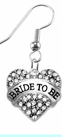 """<BR>    """"BRIDE TO BE""""  EXCLUSIVELY OURS!!   <Br>               AN ALLAN ROBIN DESIGN!!   <BR>        NICKEL, LEAD & CADMIUM FREE!!   <BR>W1702E1- FROM $5.98 TO $12.85 �2015"""
