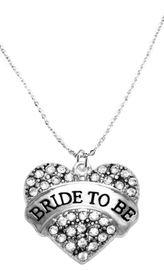 """<BR>    """"BRIDE TO BE""""  EXCLUSIVELY OURS!!   <Br>               AN ALLAN ROBIN DESIGN!!   <BR>        NICKEL, LEAD & CADMIUM FREE!!   <BR>W1702N1- FROM $5.40 TO $10.45 �2015"""