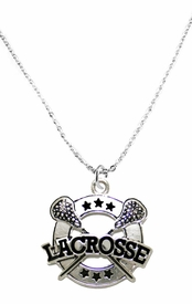 <BR>   WHOLESALE FASHION LACROSSE JEWELRY  <bR>                              EXCLUSIVELY OURS!!  <Br>                         AN ALLAN ROBIN DESIGN!!<BR>                  NICKEL, LEAD, & CADMIUM FREE!!  <BR>  W1723N1- ANTIQUED SILVER TONE AND LACROSSE<BR>        CHARM ON LOBSTER CLASP CHAIN NECKLACE  <BR>                       FROM $5.40 TO $9.85 �2015