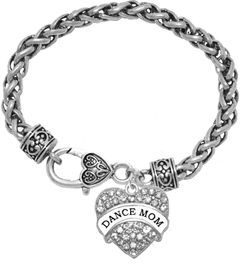 <BR>                  DANCE MOM JEWELRY  <bR>                    EXCLUSIVELY OURS!!  <Br>               AN ALLAN ROBIN DESIGN!!  <BR>        NICKEL, LEAD & CADMIUM FREE!!  <BR>   W1726B1 - ANTIQUED SILVER TONE AND  <BR>                CRYSTAL DANCE MOM HEART <BR>CHARM ON HEART LOBSTER CLASP BRACELET  <Br>                       $10.38 EACH  �2015