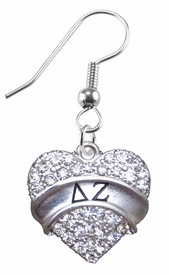 <BR>LICENSED SORORITY JEWELRY MANUFACTURER<BR>                  DELTA ZETA SORORITYEARRINGS<BR>                 NICKEL, LEAD,  & CADMIUM FREE! <BR>                       EXCLUSIVELY OURS W1735E1<BR>               FROM $7.90 TO $12.50 EACH �2015 <BR>
