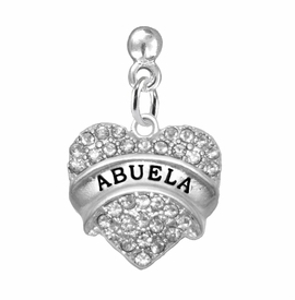 "<BR>                       THE ""PERFECT GIFT""<BR>       ""ABUELA""  EXCLUSIVELY OURS!!   <Br>               AN ALLAN ROBIN DESIGN!!   <br>                         HYPOALLERGENIC<BR>        NICKEL, LEAD & CADMIUM FREE!!   <BR>W1759E2 - FROM $5.98 TO $12.85 �2015"