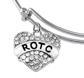 <BR><B> ROTC BRACELET</B><br>      <br>ADJUSTABLE MIRACLE WIRE BRACELET<BR>NICKEL, LEAD, AND POISONOUS CADMIUM FREE<br>W1788B9  $11.68 EACH  �2018