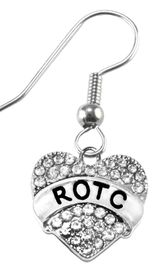 <br> <b>ROTC GENUINE CRYSTAL EARRING</b><br>     <br>NICKEL, LEAD, AND POISONOUS CADMIUM FREE!, <br>W1788E1  $11.68 EACH �2018