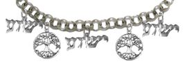 """MESSIANIC , """" THE TREE OF LIFE """" AND, """" YESHUA """" CHARM BRACELET - ADJUSTABLE<BR>  CLICK HERE TO OPEN, AND CLICK ON PICTURE TO SEE DETAIL<br>    <BR> HYPOALLERGENIC, NICKLE, LEAD, & CADMIUM FREE <BR> W1793-1850-1793-1850-1793B2   $11.83 EACH  �2019"""