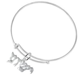 <BR>JESHUA / YESHUA (JESUS IN HEBREW LETTERING)  <BR>                         EXCLUSIVELY OURS!!       <Br>                    AN ALLAN ROBIN DESIGN!!      <br>                             HYPOALLERGENIC    <BR>               NICKEL, LEAD & CADMIUM FREE!       <BR>W1793B9 - BRIGHTLY POLISHED YESHUA CHARM ON    <BR>        ADJUSTABLE SOLID THIN WIRE BRACELET    <BR>                 FROM $6.23 TO $11.75 �2015