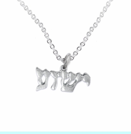 <BR>JESHUA / YESHUA (JESUS IN HEBREW LETTERING)  <BR>                            <Br>                   <br>                             HYPOALLERGENIC - SAFE    <BR>              NO  NICKEL,  NO LEAD AND NO POISONOUS CADMIUM      <BR>W1793N1 - BRIGHTLY POLISHED YESHUA CHARM ON    <BR> DELICATE CHAIN LINK LOBSTER CLASP NECKLACE  <BR>                 $9.68 EACH �2015