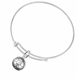 <BR>            WHOLESALE SOCCER SPORTS JEWELRY   <BR>                         EXCLUSIVELY OURS!!        <Br>                    AN ALLAN ROBIN DESIGN!!       <BR>                             HYPOALLERGENIC     <BR>               NICKEL, LEAD & CADMIUM FREE!        <BR>   W1804B9 - 3D SPHERE SOCCER BALL CHARM ON     <BR>      ADJUSTABLE THIN MIRACLE WIRE BRACELET <BR>                 FROM $6.23 TO $11.75 �2016