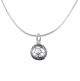 <BR>    WHOLESALE SOCCER FASHION SPORTS JEWELRY    <BR>                         EXCLUSIVELY OURS!!         <Br>                    AN ALLAN ROBIN DESIGN!!        <BR>                             HYPOALLERGENIC      <BR>               NICKEL, LEAD & CADMIUM FREE!         <BR>   W1804N2 - 3D SPHERE SOCCER BALL CHARM ON      <BR>  A SNAKE CHAIN NECKLACE WITH LOBSTER CLASP  <BR>                 FROM $6.23 TO $11.75 �2016