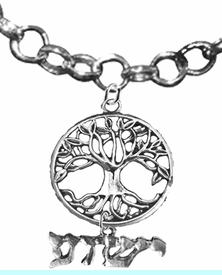 <BR>JESHUA / YESHUA (JESUS IN HEBREW LETTERING)  AND THE TREE OF LIFE CHARMS <BR>                             <Br>                     <br>                             HYPOALLERGENIC- SAFE    <BR>           NO  NICKEL, NO LEAD AND NO POISONOUS  CADMIUM       <BR>W1850-1793N16 - BRIGHTLY POLISHED AND ANTIQUE CHARMS ON    <BR> DELICATE ROLLO CHAIN LINK LOBSTER CLASP NECKLACE  <BR>                  $13.68 �2019