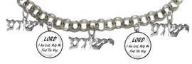 "MESSIANIC ""LORD I AM LOST, HELP ME FIND THE WAY"", <BR>& ""YESHUA"" BRACELET <BR>CLICK HERE TO OPEN, AND CLICK ON PICTURE TO SEE DETAIL<br>     <br>W1793-1789-1793-1789-1793B2     <br> ADJUSTABLE - NICKLE, CADIUM, LEAD FREE<br> ON A ROLLO CHAIN $11.83 EACH �2019"