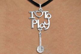 "<br>      WHOLESALE MUSIC FASHION NECKLACE <bR>                    EXCLUSIVELY OURS!!<BR>               AN ALLAN ROBIN DESIGN!!<BR>         CADMIUM, LEAD & NICKEL FREE!!<BR>     W20768N - BEAUTIFUL SILVER TONE <Br>""I LOVE TO PLAY"" & DETAILED BANJO CHARM <BR>    NECKLACE FROM $4.64 TO $8.75 �2013"