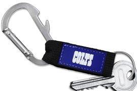 <bR> WHOLESALE NFL FOOTBALL TEAM KEYCHAIN <BR>     OFFICIAL FOOTBALL LICENSED!! <br>             LEAD & NICKEL FREE!!! <br>W20877KC - OFFICIAL INDIANAPOLIS COLTS <BR>  CARABINER WITH BOTTLE OPENER AND <BR>      KEY CHAIN YOURS FOR $1.43 To $1.68 EACH �2013