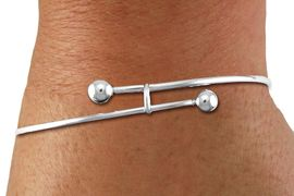 "<BR>      WHOLESALE CHARM BRACELET<BR>     LEAD, CADMIUM & NICKEL FREE!! <BR>W21302B10 - SILVER TONE ADJUSTABLE <BR>                         ""BALL TIPPED""<BR>  CHARM BRACELET WITH CHARM RING<BR>              FOR $7.25 EACH! &#169;2014 <BR>               B10"