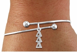 <BR>                       CLICK ON PICTURE, SCROLL DOWN<BR>             TO SELECT YOUR SORORITIES GREEK LETTERS<bR>                   WHOLESALE FASHION SORORITY JEWELRY  <BR>                                  EXCLUSIVELY OURS!!  <BR>                             AN ALLAN ROBIN DESIGN!!  <BR>                       LEAD, NICKEL & CADMIUM FREE!!  <BR>            W21364B - OFFICIAL SILVER TONE CUSTOM  <BR>    GREEK LETTER SORORITY CHARM ON ADJUSTABLE <Br>BALL TIPPED BRACELET FROM $5.90 TO $9.25 �2014