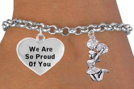 <BR>                                             JUMPING CHEERLEADER CHARM BRACELET <bR>                 W21390B - THE NEW WAY TO EXPRESS LOVE, MOTIVATION, POSITIVE <BR>                  AND AFFIRMATIVE EXPRESSIONS, CHARM BRACELET $10.38 �2014